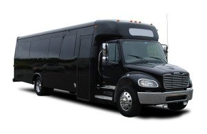 35 passenger limo bus rental services transportation