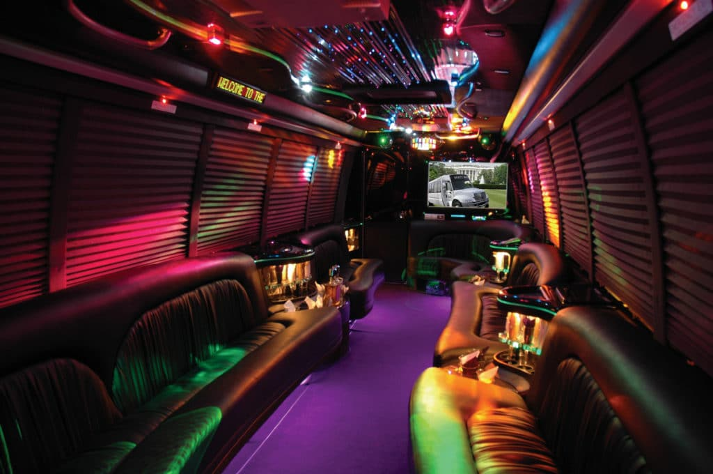 Bachelor Party Limo Service San Diego Bus Transportation