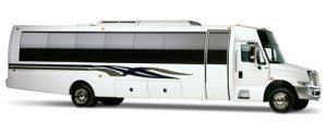 San Diego 35 passenger limo bus
