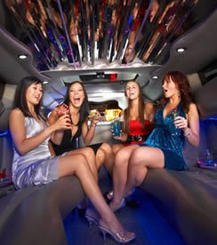 San Diego Bachelorette Transportation Services limousine party bus rental