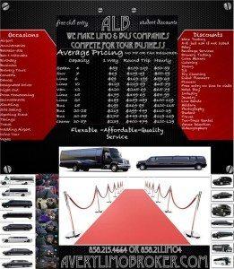 San Diego limo service list