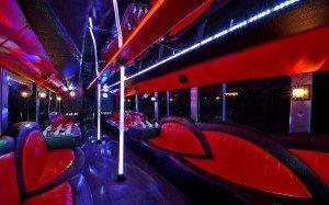 san diego 50 passenger limo bus interior