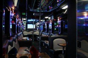 san diego limo bus photos