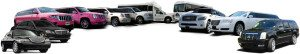 san diego limousine types model options