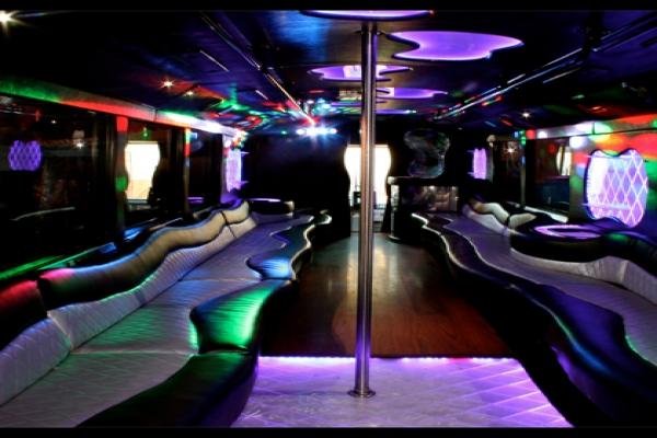 Limo Bus San Diego 50 Passenger San Diego Party Rental