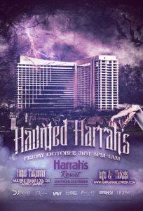 Haunted Harrahs Halloween Discount tickets promo code link