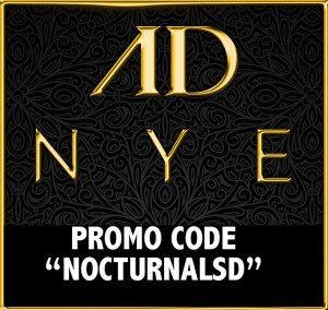San Diego Andaz NYE 2015 2016 Ticket Promo Code