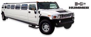 San Diego Quinceanera white limousine