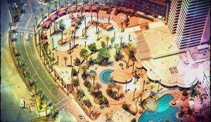 harrah's dive dj cabana pool party